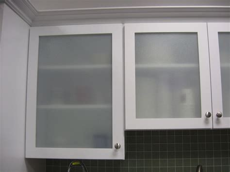 Frosted Glass Kitchen Cabinet Doors Modern Style Replace Kitchen Cabinet Door With Frosted Glass Cabinet Door And White Wooden