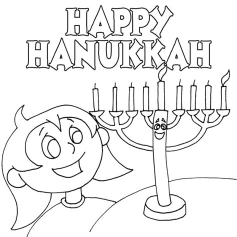 hanukkah menorah coloring page free printable hanukkah coloring pages for kids best