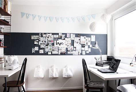 fotowand selber machen stoff eine pinnwand selber machen und deko ideen