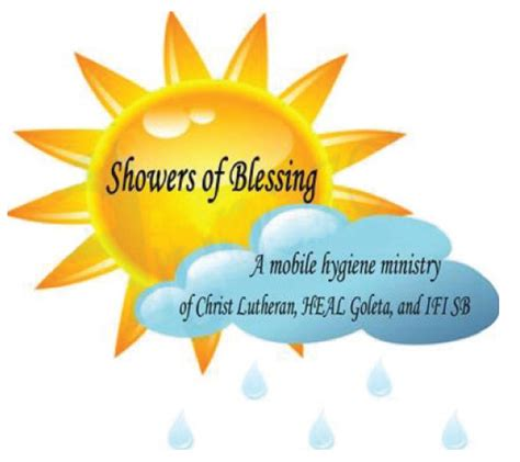 Shower Blessings by Showers Of Blessing Congregation B Nai B Rith