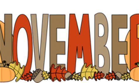 november printable banner november banner clipart
