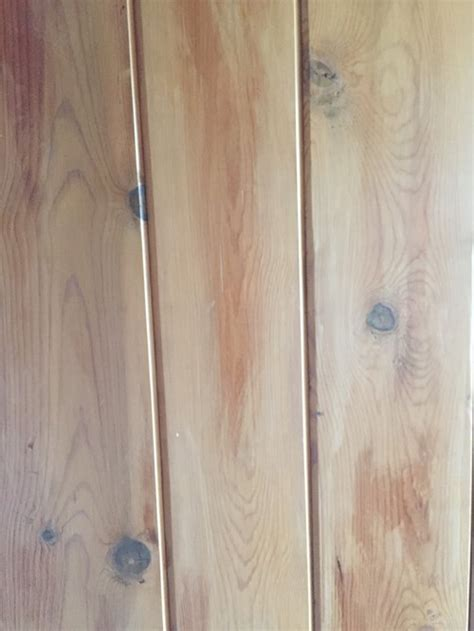 how should i paint knotty pine wood paneling