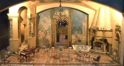 cinderella film house inside the 7million doll house built by a silent era