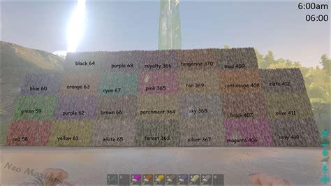 dye official ark survival evolved wiki