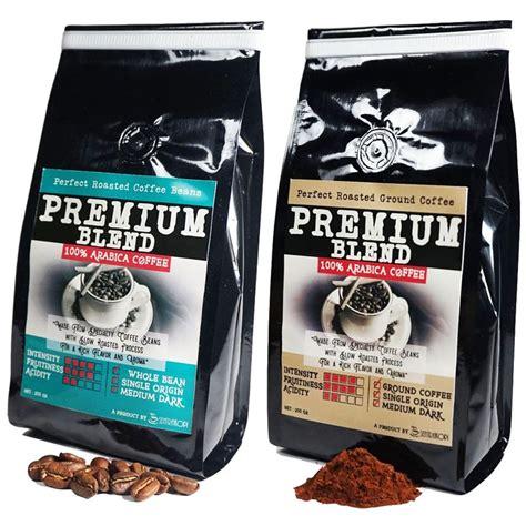 Kopi Arabika Premium 500 Gram kopi arabika premium blend bubuk dan biji toko kopi