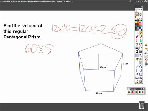 How To Make A Hexagonal Prism Out Of Paper - pentagonal prism