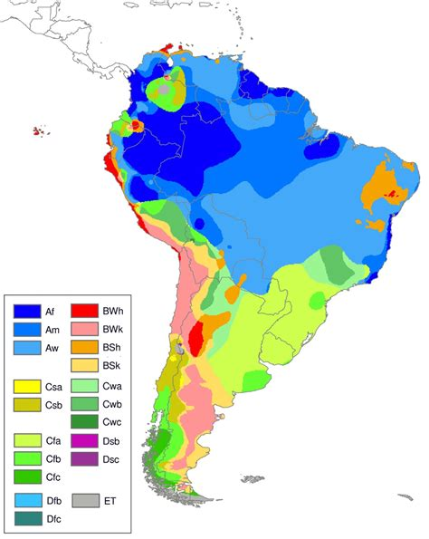 middle east climate zone map climate map for south america clipart best