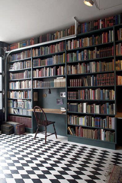 wall library 25 best ideas about bookshelf desk on
