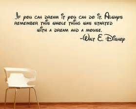 Wall Decal Stickers Quotes Disney Wall Sticker Quote Decal