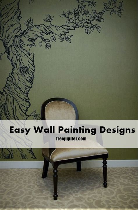 Wall Mural Painting Ideas 40 easy wall painting designs