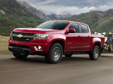 2017 Chevrolet Colorado Release Date Diesel Mpg Review by 10 Most Fuel Efficient 4x4 Trucks Autobytel Com