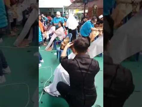 Rambut Sambungan Di Surabaya acara potong rambut massal warga kurang mu di surabaya