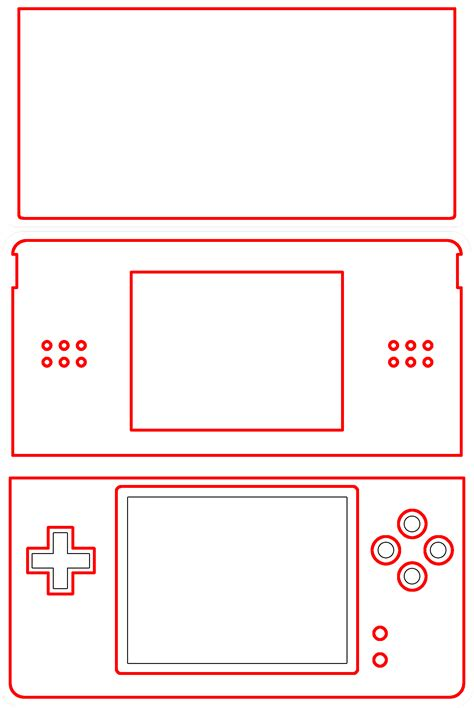 Win A One Of A Kind Ds Skin That You Designed Gamesradar 3ds Xl Skin Template