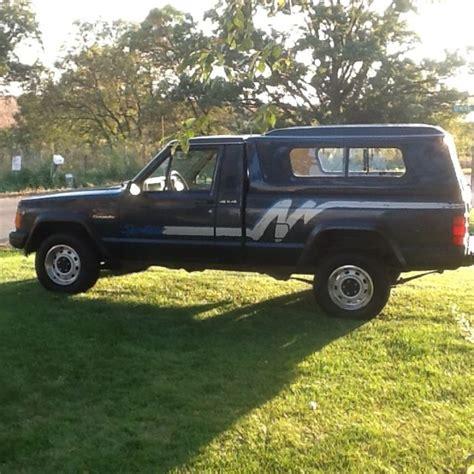 jeep truck 2 door 1991 jeep comanche sport truck 2 door 4 0l