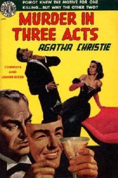 libro three act tragedy poirot 1000 images about vintage crime on raymond chandler agatha christie and the big sleep