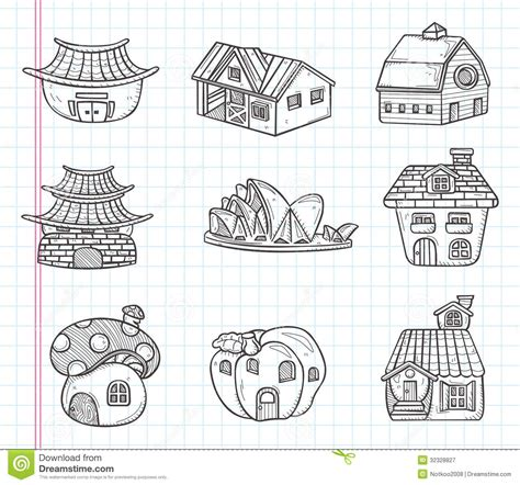 house drawing stock images royalty free images vectors doodle house icon stock vector illustration of drawing