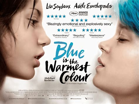 blue is the warmest color cast blue is the warmest color uk poster something like summer