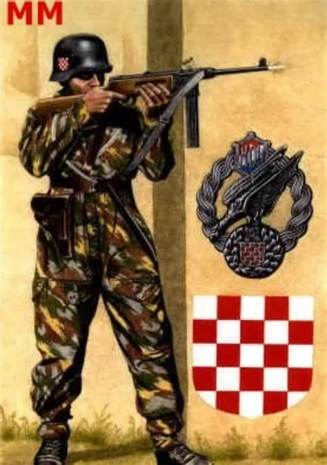 world war ii croatian 1472817672 croatian propaganda poster from world war ii world war ii propaganda axis