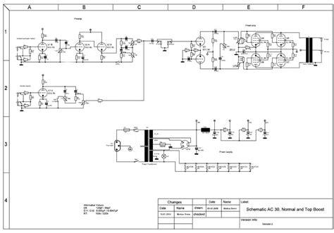 100 ohm resistor center tap schematic diy lifier ac30