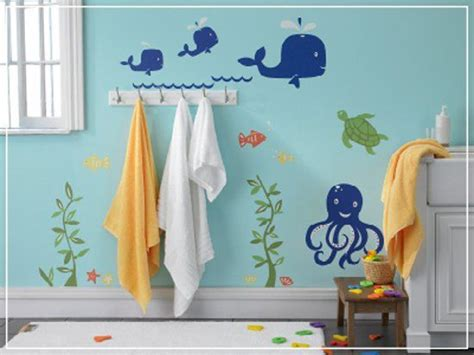 kids bathroom paint ideas under the sea decals kid bathrooms fish and water