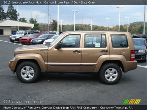 brown jeep liberty brown pearl 2012 jeep liberty sport 4x4