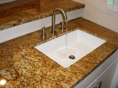 How To Attach An Undermount Sink by How To Attach Undermount Bathroom Sinks Cookwithalocal