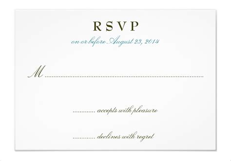 Wedding Invitation Acceptance by Custom Card Template 187 Acceptance Card Template Free