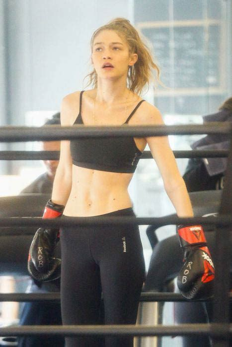 gigi hadid workout routine gigi hadid 2017 workout and diet plan healthy celeb