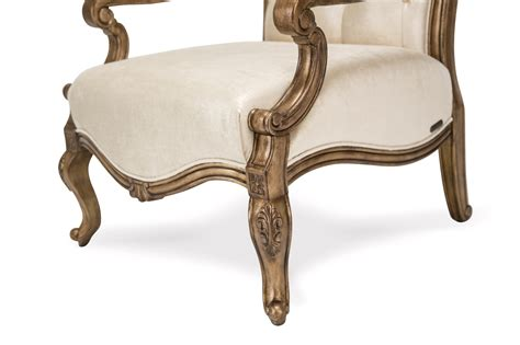 Antique Accent Chair Platine De Royale Blanc Accent Chair In Antique Platinum