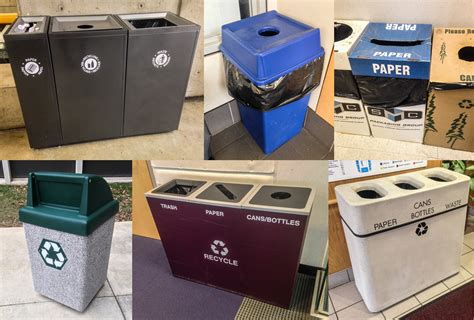 Oh Look Waste Paper Bins In Paper Sizes by Recycling Faqs Sustainability Missouri State