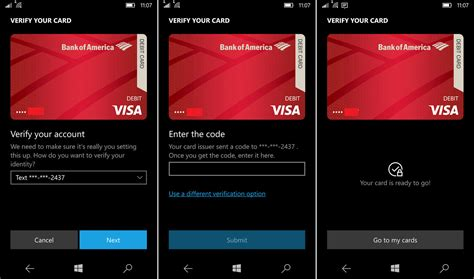 nfc mobile payments bank of america and microsoft s wallet 2 0 enables nfc
