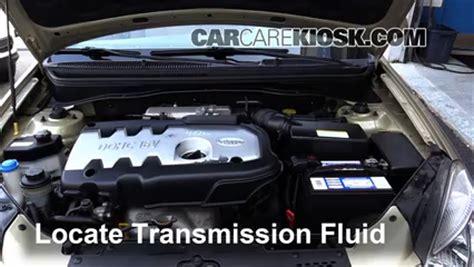 transmission control 2010 kia rio navigation system add transmission fluid 2006 2011 kia rio 2007 kia rio 1 6l 4 cyl