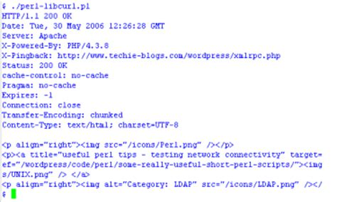 perl libcurl demo coding school