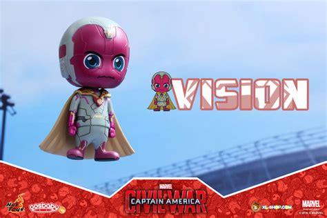 Toys Cosbaby Vision Civil War Ori toys cosb255 captain america civil war vision