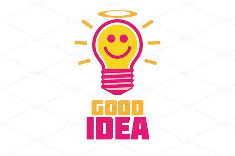 good idea logo templates on creative market