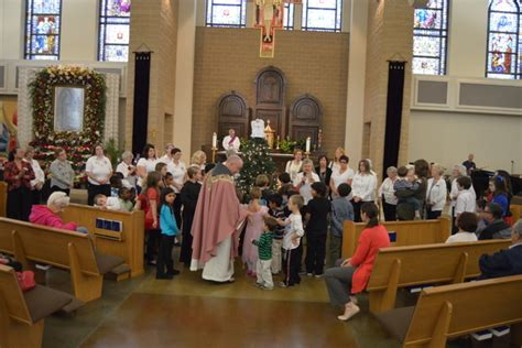 Blessed Sacrament Food Pantry by Blessing Of Nativity Memorial Tree Lighting