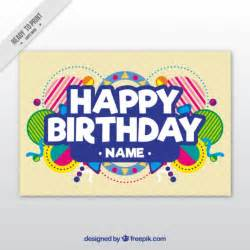 birthday vectors photos and psd files free