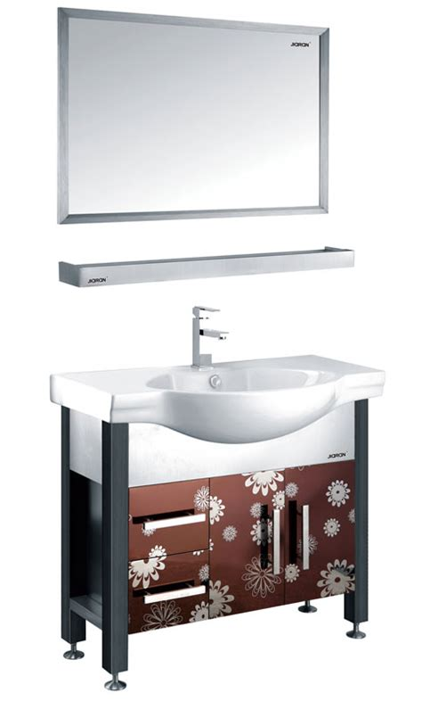 Steel Bathroom Vanity Buy Stainless Steel Bathroom Vanities Tops At Faucetline Stainless Steel Kitchen Cabinets