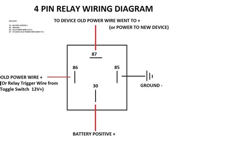 oex 5 pin relay wiring diagram wikishare