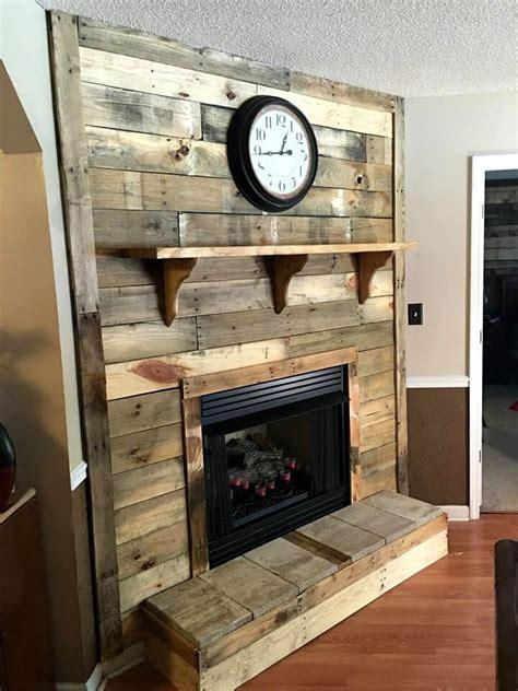 Cover Fireplace diy pallet fireplace 101 pallet ideas