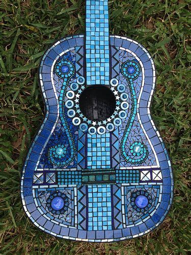 mosaic violin pattern 60 best musical mosaic muse images on pinterest guitar