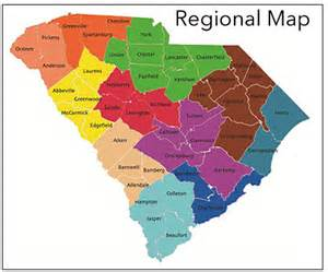 carolina regions map welcome to south carolina association of tourism regions