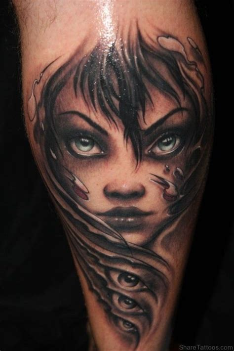 woman face tattoo designs 1000 ideas about on