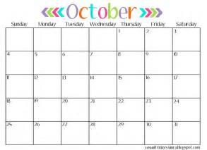 october 2017 calendar cute weekly calendar template