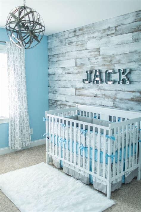 wood panel wall in nursery diy boy nursery rustic 30 wood accent walls to make every space cozier digsdigs