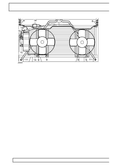 Klem Hose 19 381 14plat land rover workshop manuals gt 300tdi defender gt air conditioning gt condenser gt page 578