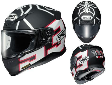 Helm Shoei Ant free 2 day ship shoei rf 1200 marc marquez black ant motorcycle helmet white ebay
