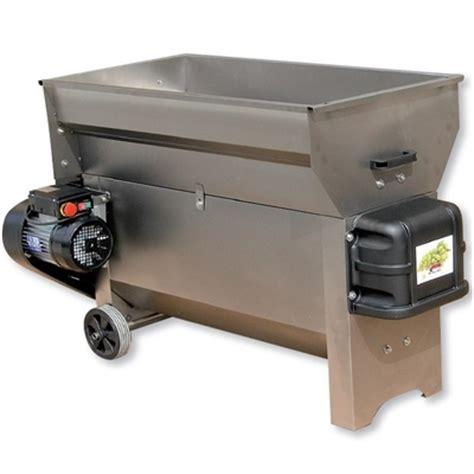 grifo wine crusher dvep30i destemmer w must pump 3 ton