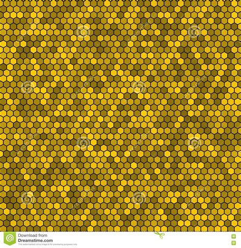 yellow hexagon pattern yellow honeycomb vector background royalty free stock