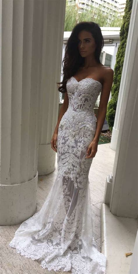 Lace Style Wedding Dresses by Charming White Lace Wedding Dress S Sweetheart Bridal